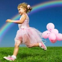 радуга в фотошопе